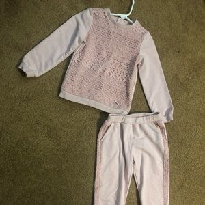 Other - Blush sweat suit